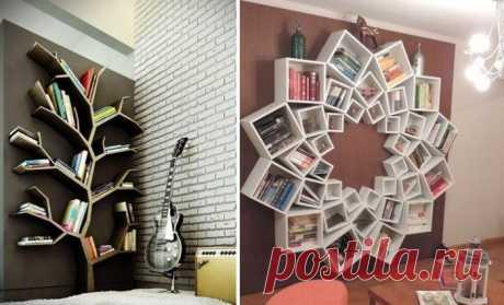 Идеи оформления книжных полок Время, когда книги из домашней библиотеки, тщательно расставленные по полкам, были предметом гордости хозяев, к сожалению, постепенно уходит в прошлое.Теперь многие, наоборот, стараются избавиться от...