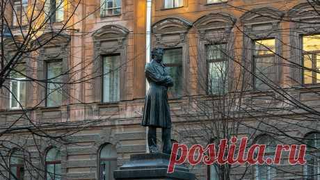 Пушкинская улица. Первый памятник А. С. Пушкину в Санкт-Петербурге   4traveler   Яндекс Дзен