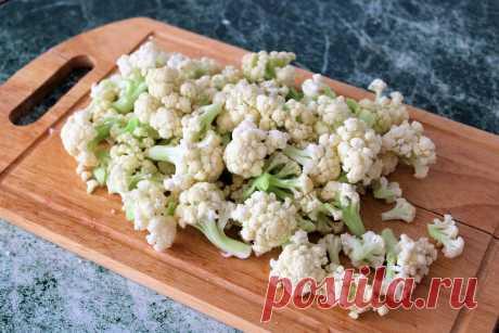 Подписчица научила готовить цветную капусту. Теперь всегда готовлю целый килограмм, получается очень вкусно   ОЛЯ ГОТОВИТ   Яндекс Дзен