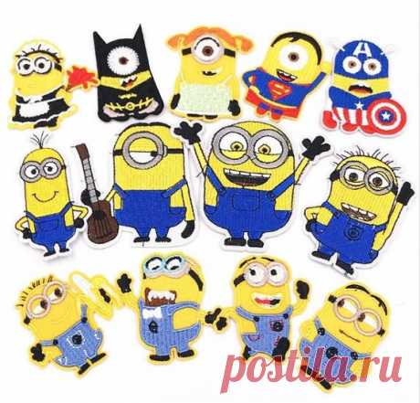 Minions, Minions patch, Patches, Patch, Iron on patch, Embroidered patch, Sewn on patch, Patches for jackets, Patches for backpacks, DIY