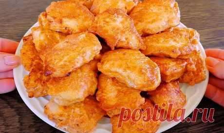 Наготовила гору, а съели за 2 минуты. Закуска из куриной грудки: кусочки нежного мяса в кляре Куриная грудка часто при готовке получается слишком сухой. Благодаря моему рецепту, получается вкусное и сочное блюдо, которое никогда не будет пересушенным – это кусочки нежного мяса в кляре. Для приготовления вам потребуются такие ингредиенты: филе куриное, 2 шт; сметана, 100 г; яйцо, 1 шт; соевый соус, 30 мл; горчица, 1 ст.л; чеснок, 3 зубчика; перец […]