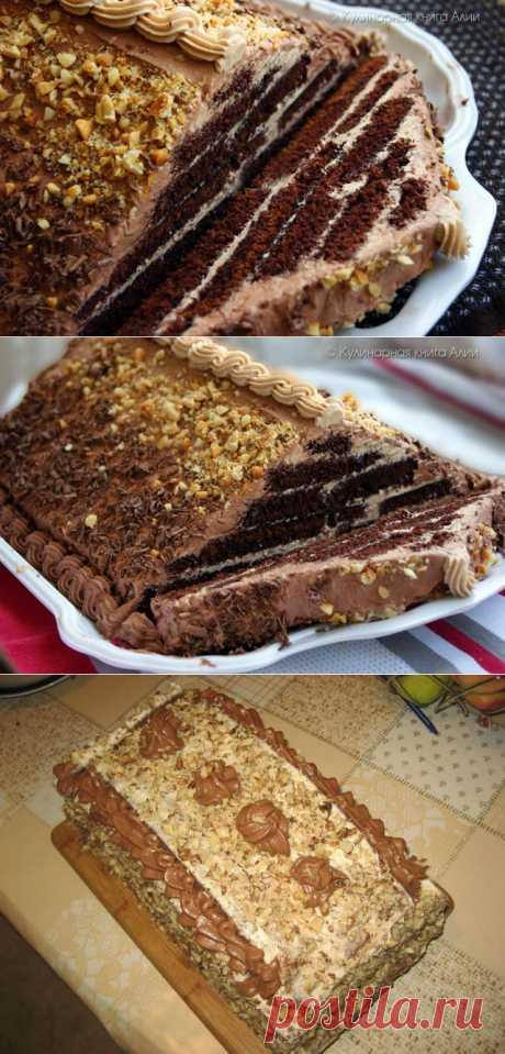 "618. Торт ""Шоколадная пирамида"""