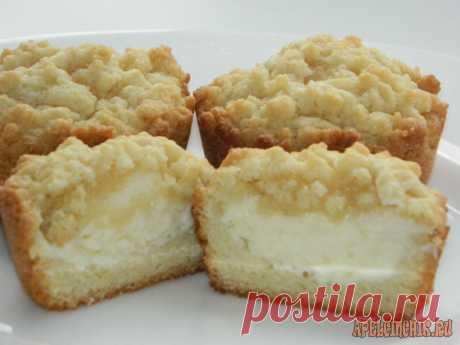 тертые кексы с начинкой - Самое интересное в блогах