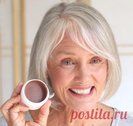 Советы визажистов для минимального макияжа в возрасте 55+ | Стиль вне размера | Яндекс Дзен