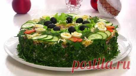 "Салат ""Сытый Барин""/Мясной Праздничный салат"