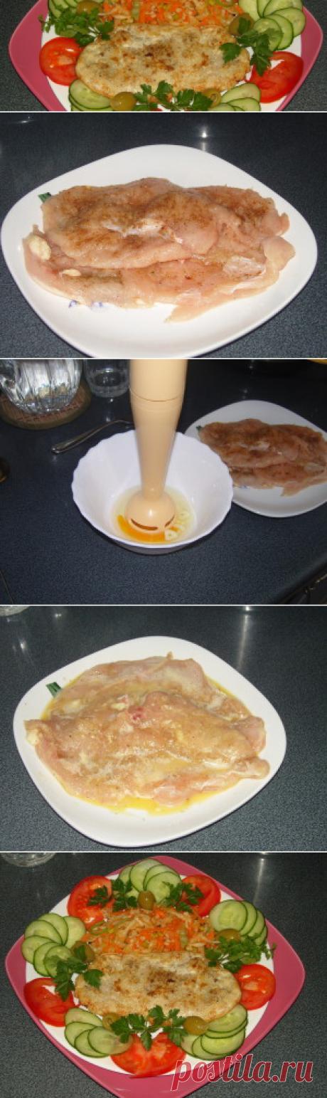 Бризоль из куриной грудки | Вкусный день