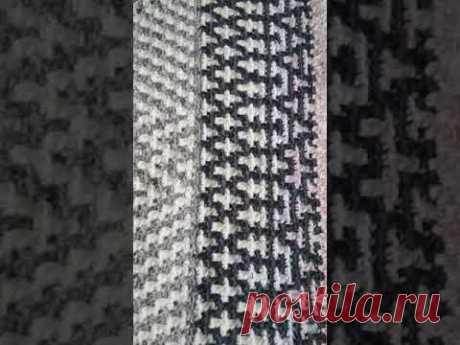 Коврик крючком мозаичным вязанием#вязаниекрючком,#вязание,#вяжуспицамиикрючком,#вяжемповяжем