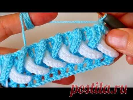 Yapımı çok kolay muhteşem yelek canta battaniye örgü modeli Knitting krochet baby blanket model