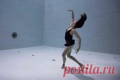 Танец под водой...   Видео дня