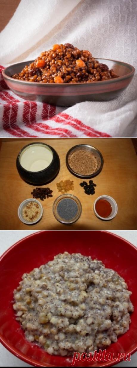 Кутья из пшеницы на Рождество рецепт с фото пошагово - 1000.menu