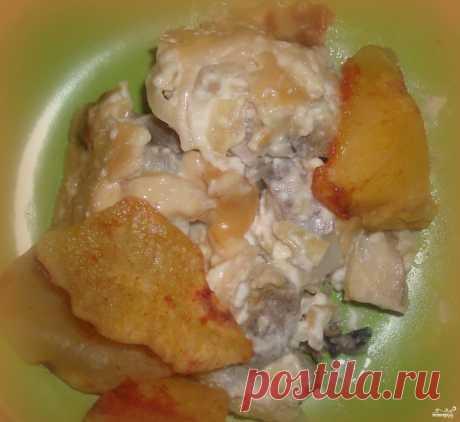 Минтай тушеный в майонезе - пошаговый рецепт с фото на Повар.ру