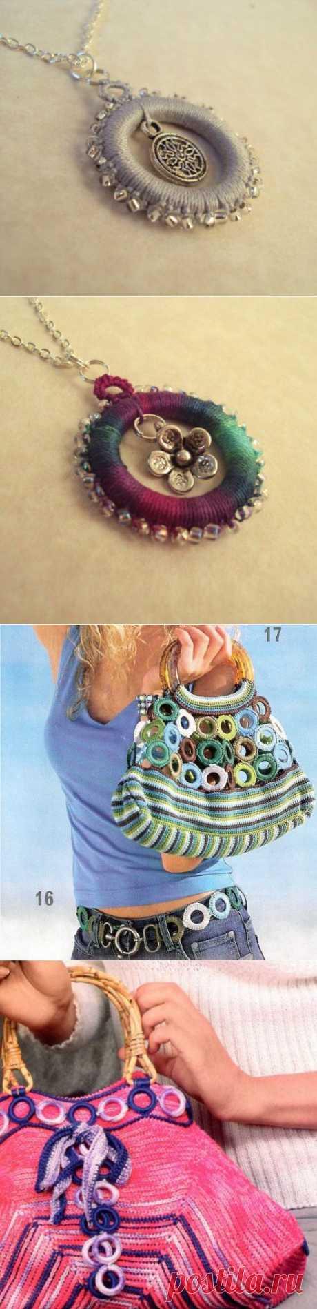 Что можно сделать из пластиковых колец.