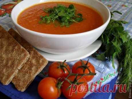👌 Томатный суп-пюре с чесноком, рецепты с фото Этот томатный суп получается очень вкусный и пикантный. Так как готовить его можно как на овощном бульоне, так и на нежирном мясном, то его полюбят вегетарианцы и те, кто на данный...
