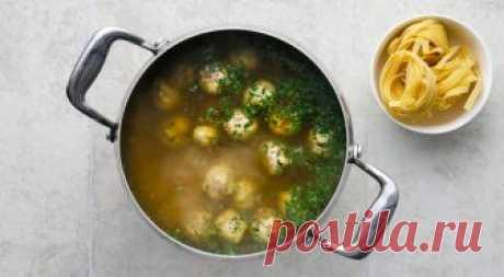 Вкусный суп с фрикадельками из индейки | Вкусные рецепты