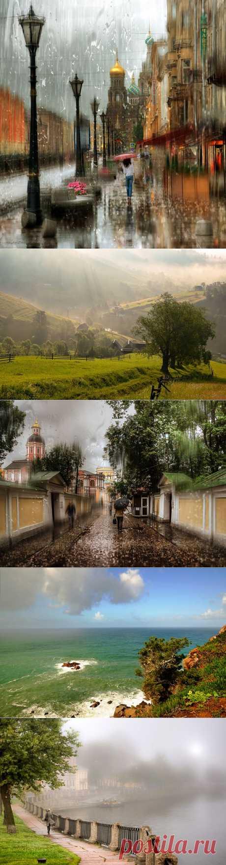 Дождь, солнце и туман в фотографиях Гордеева Эдуарда .