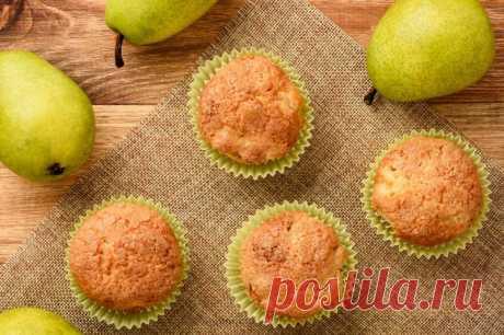 Грушевые маффины — Sloosh – кулинарные рецепты