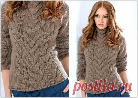 Связать легко, носить приятно: элегантные свитеры и джемперы на осень и зиму | Paradosik_Handmade | Яндекс Дзен