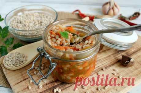 Рассольник на зиму из свежих огурцов с перловкой рецепт с фото пошагово и видео