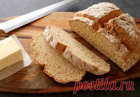 Домашний хлеб без дрожжей - как у бабушки из духовки Всем привет. Можно испечь хлеб без дрожжей и закваски?Я вам скажу так, что да! Такой домашний хлеб без дрожжей очень