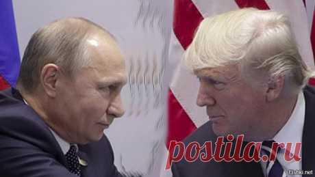 Эти кадры вырезали телевизионщики: реальный обмен рукопожатиями Путина и Трампа