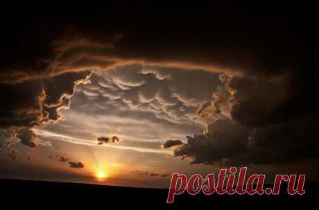 Вымяобразные или трубчатые облака Встречаются редко, преимущественно в тропических широтах и связаны с образованием тропических циклонов. В метеорологии «вымяобразные» облака носят название Mammatus (или Mammatocumulus).