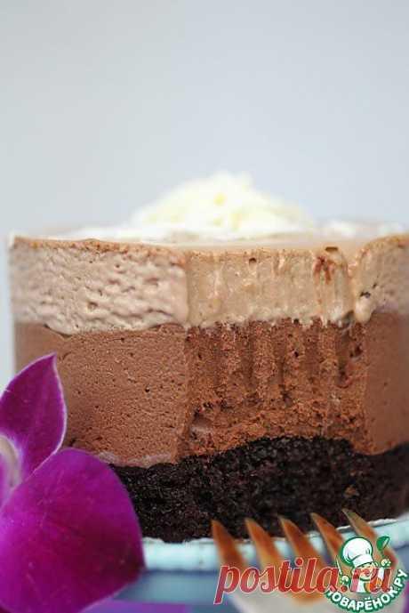 """Пирожное """"Шоколадный Мусс"""" Автор: Kipariss"""
