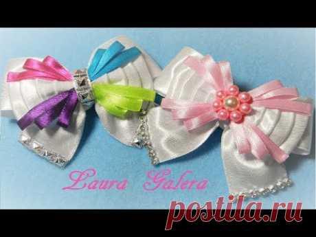 Moño para princesas  Bows for princesses  Laço para Princesas  Детские Банты !!