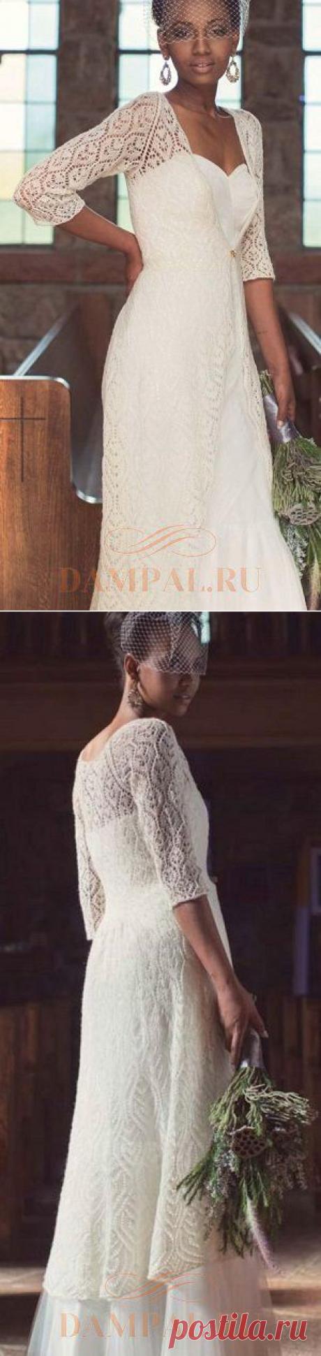 Белый ажурный жакет «Snow Bunting» | DAMские PALьчики. ru