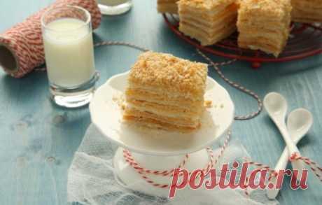 Рецепты торта «Наполеон» из готового слоёного теста, секреты выбора