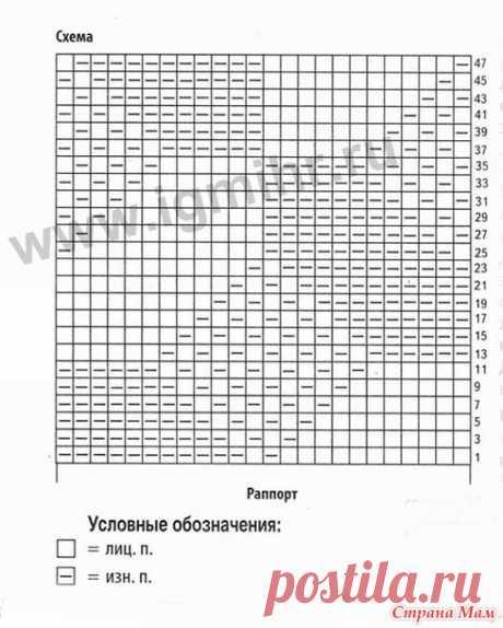 . El pulóver para el querido synochka - la Labor de punto - el País de las Mamás