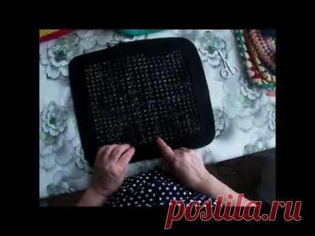 Чехлы на табуретку вязание крючком