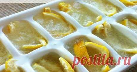 Как и почему нужно использовать весь лимон без отходов?!