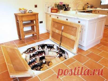 Погреб в кухне