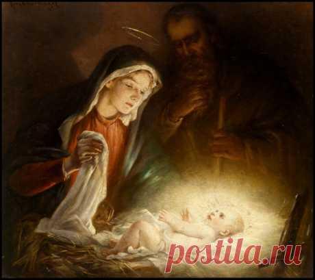 В ночь святую Рождества...