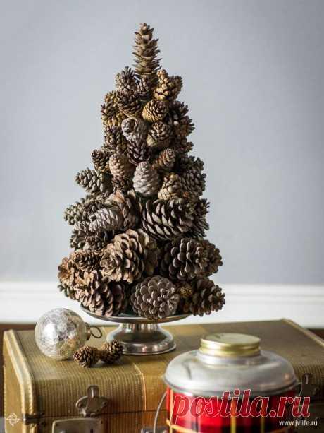 Необычные новогодние елки своими руками | Высоцкая Life