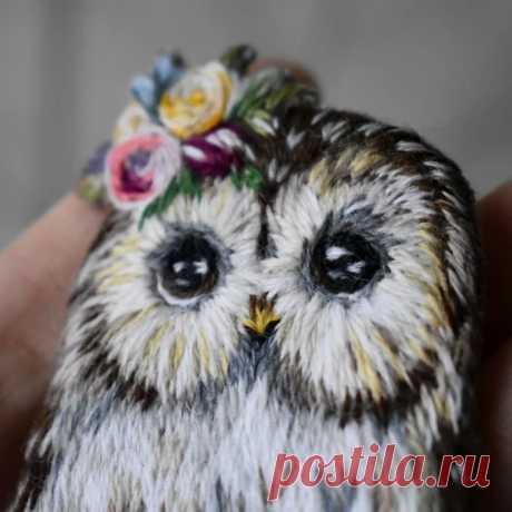 Вышитые птицы | Пикабу