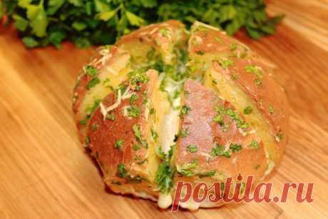 Как я готовлю чесночный хлеб — вкуснее, чем в пекарне: делюсь любимым рецептом   Мастерская идей   Яндекс Дзен