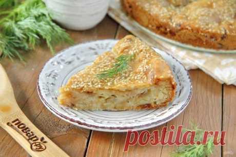 ПП пирог с капустой - пошаговый рецепт с фото на Повар.ру