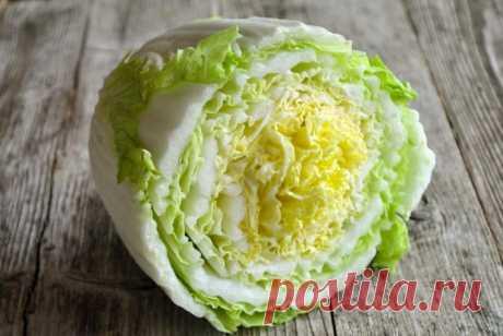 Как сделать простой и вкусный салат из пекинской капусты