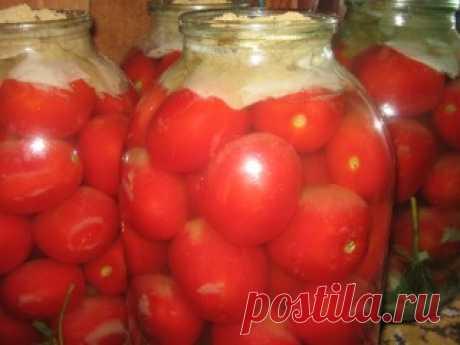 Соленые ядреные ,бочковые помидоры ...из банки