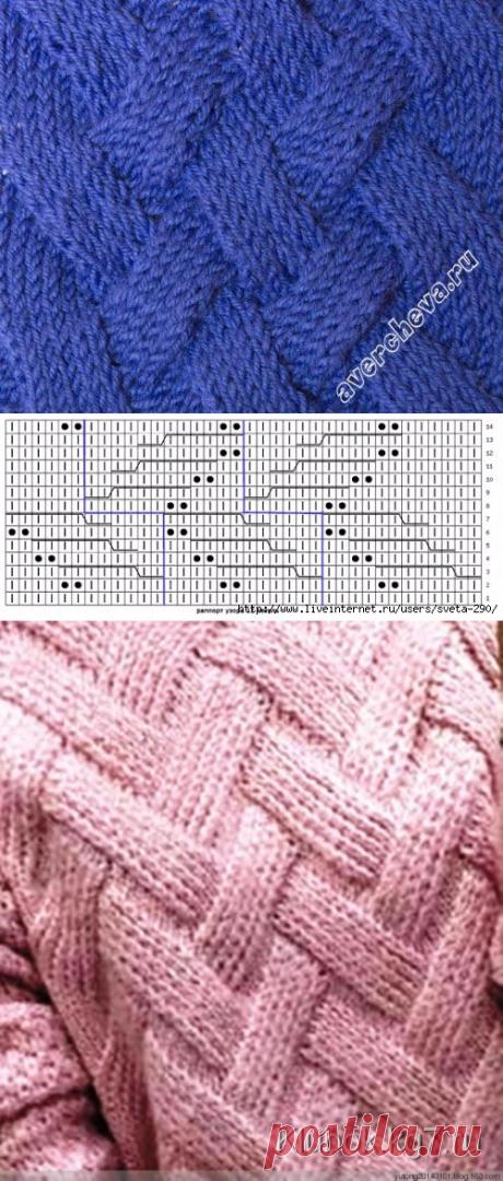 Пуловеры со структурным УЗОРОМ
