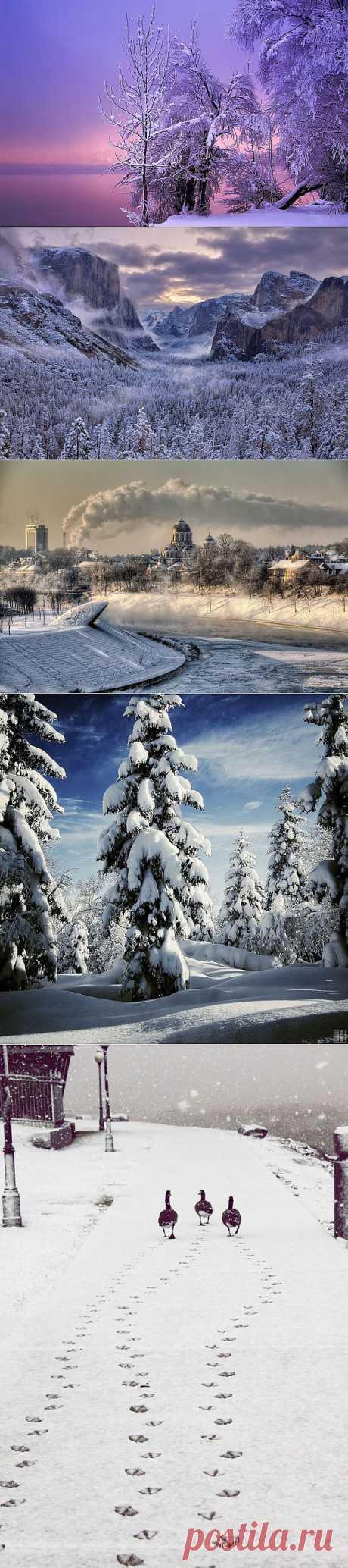 ФотоТелеграф » 20 восхитительных зимних пейзажей