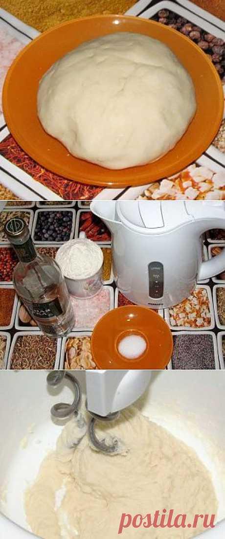 Заварное тесто для чебуреков, пельменей и вареников