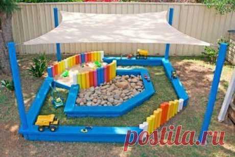 Идеи для обустройства детского уголка на даче — Поделки с детьми