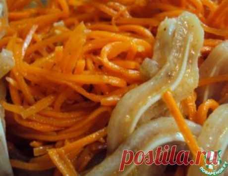 Свиные ушки по-корейски – кулинарный рецепт