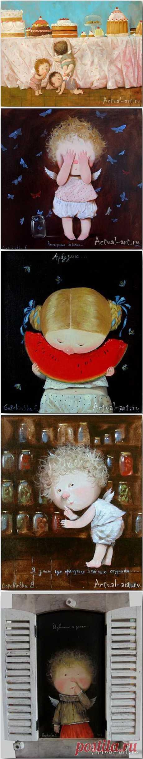 Сказочный мир Евгении Гапчинской (Evgenia Gapchinska) | Actual-art.ru