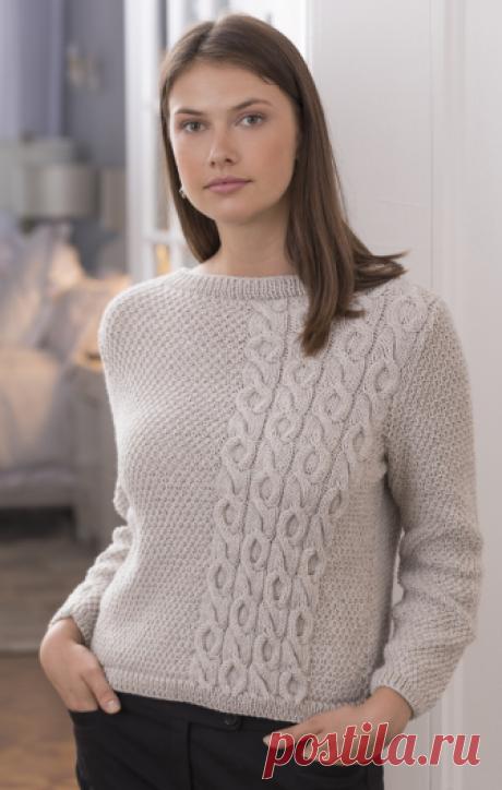 Вязаный пуловер Beacon   ДОМОСЕДКА