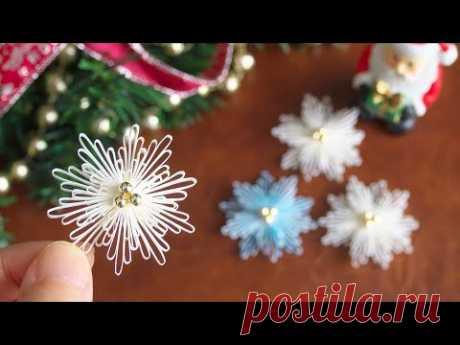 Бумажные снежинки / Рождественский декор - DIY Paper Snowflakes / Christmas Decor