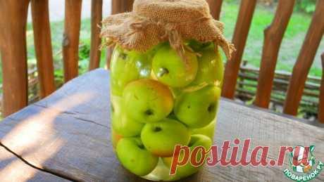 Моченые яблоки на зиму Кулинарный рецепт
