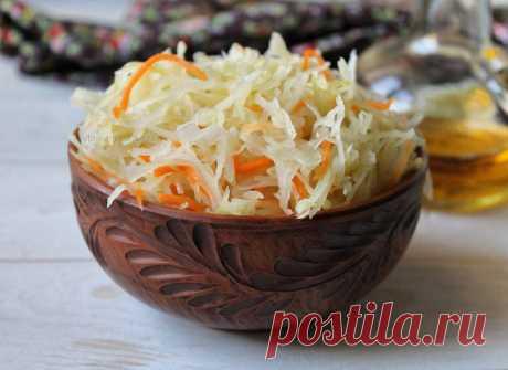 Одни витамины и сплошная польза! Рецепт очень вкусной квашеной капусты в собственном соку Самая вкусная и полезная!